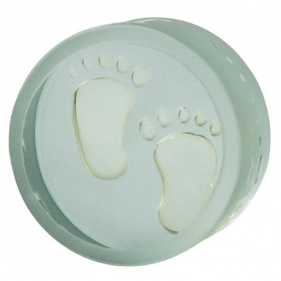 Baby Footprints Unisex Keepsake to treasure by Spaceform