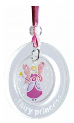 Spaceform Fairy Princess Hanging Suncatcher Keepsake Ornament