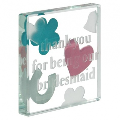 Spaceform Thank You for being our Bridesmaid Mini Keepsake to Treasure