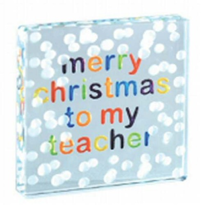 Merry Christmas Teacher gift to say thanks by Spaceform
