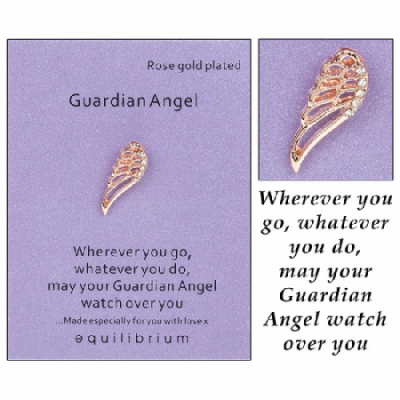equilibrium Lapel Pin Brooch ''Angel Wing''