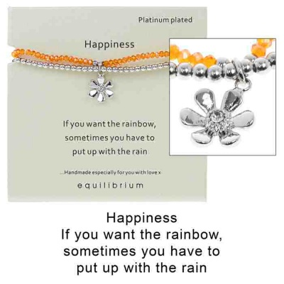 equilibrium Friendship Bracelet ''Happiness''
