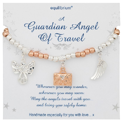 equilibrium Friendship Bracelet A Guardian Angel of Travel