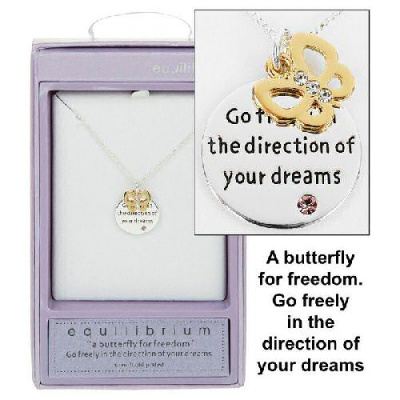 Dreams Sentiment Necklace by equilibrium