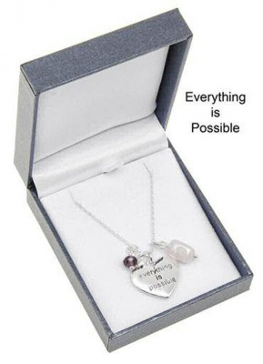 equilibrium Everything is Possible Heart Necklace