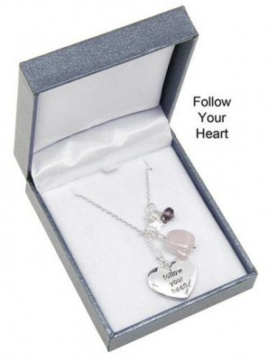 equilibrium Follow your Heart Necklace