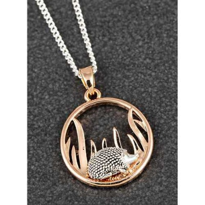 Woodland Animal Hedgehog Necklace Equilibrium Country Collection