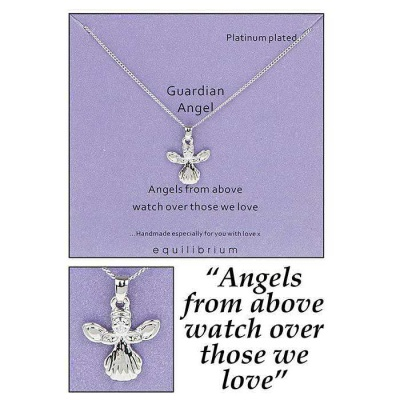 equilibrium Guardian Angel Necklace