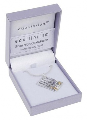 equilibrium Mum A Life Long Friend Necklace