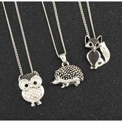 Animal Pendant Necklaces Wildlife Nature Inspired Jewellery Gifts