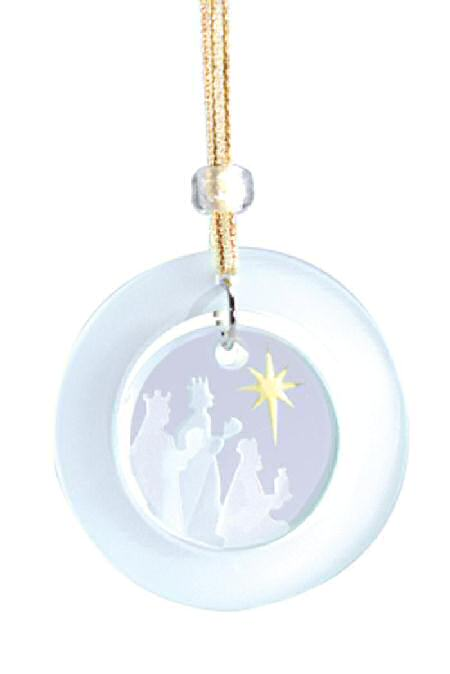 Spaceform Nativity Three Kings Christmas Hanging Suncatcher Keepsake Ornament
