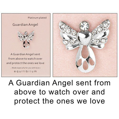 equilibrium Lapel Pin Brooch Angel sent from above to protect