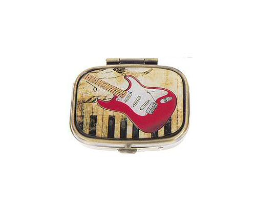 Pill Box Double Section Red Rock Guitar