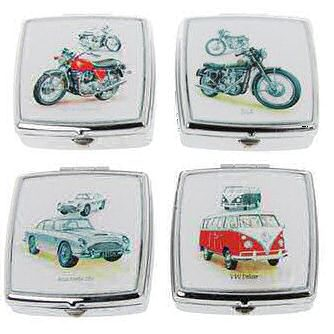Pill Box Double Section Motor Vehicle Designs