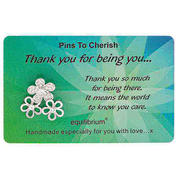 equilibrium Lapel Pin Brooch ''Thank You for being you''