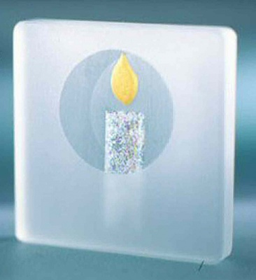Spaceform Mini Keepsake to Treasure Sparkle Single Candle